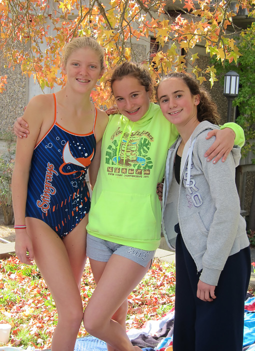 Year-round swimmers at November meet