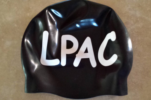 LPAC team cap (black with white lettering)